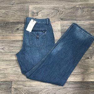 SIMPLY VERA BY VERA WANG women's straight leg jean